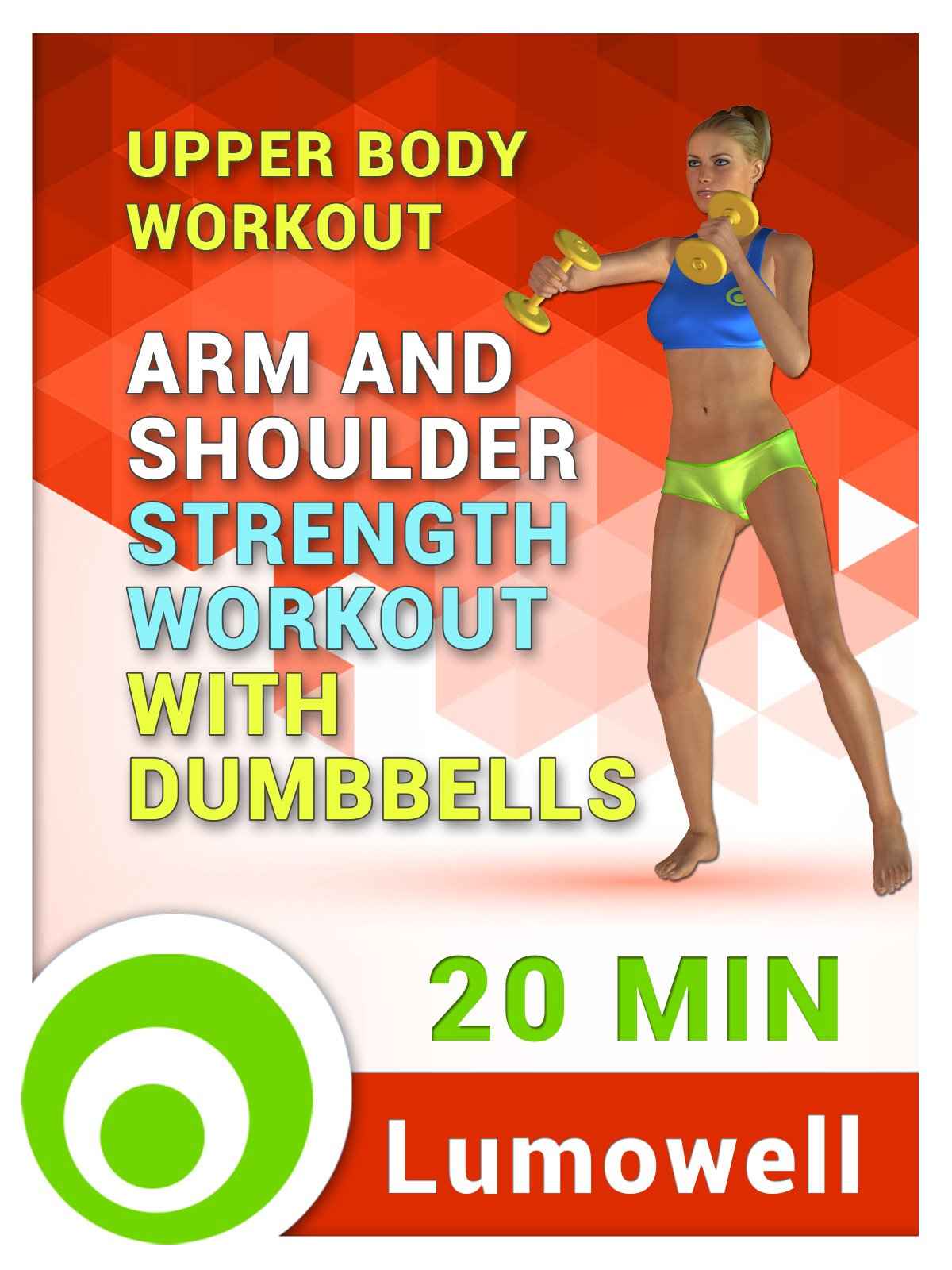 Upper Body Workout: Arm and Shoulder Strength Workout with Dumbbells on Amazon Prime Instant Video UK