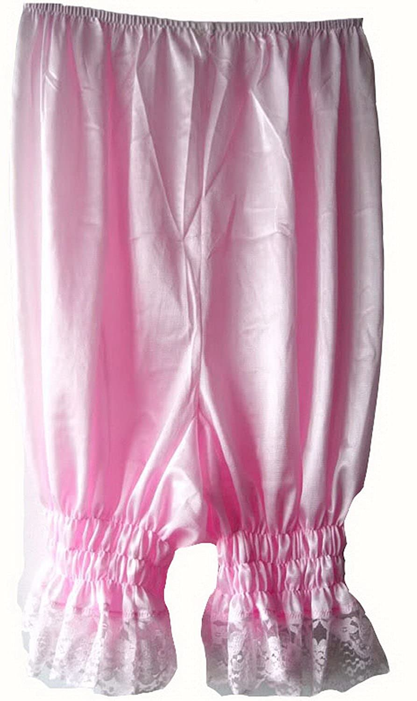 Frauen Handgefertigt Halb Slips UL3PK PINK Half Slips Nylon Women Pettipants Lace kaufen