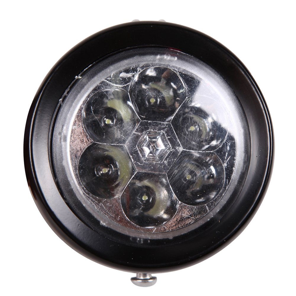 Chinatera Retro Bicycle Headlight Bike Accessory Front Light Bracket Vintage 6 Led 6