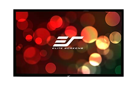 Elite ez-Frame R120WH1 Ãcran de projection 120 po ( 305 cm ) 16:9 Tension Matte White