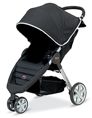 Britax B-Agile Stroller, Black (Prior Model)