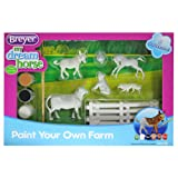 Breyer Stablemates Paint Your Own Farm Craft Activity Set (Color: Multi-colored)