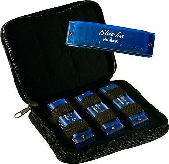 Hohner Blue Ice 3 Harmonica Pack