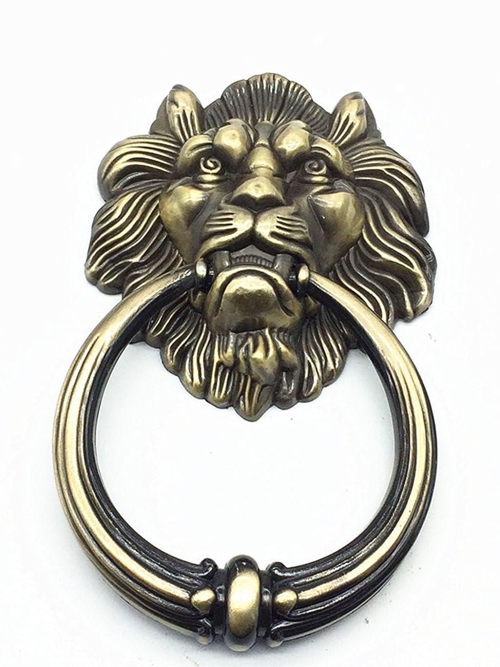 UniDecor Large Antique Lion Door Knocker Lion Head Door Handle 1