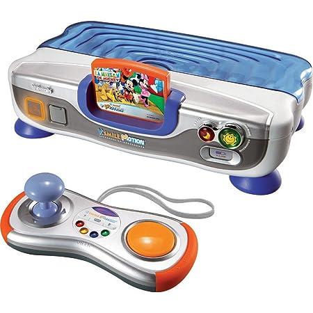 Vtech - 80-078815 - Console - VSmile Motion - Console Bleue + Jeu La Maison de Mickey