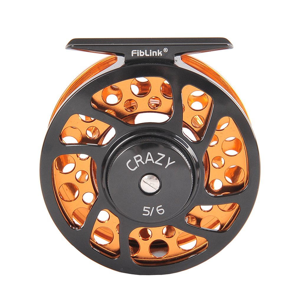 Fiblink saltwater fly fishing reel with large arbor 2 1 bb for Fishing reel sizes