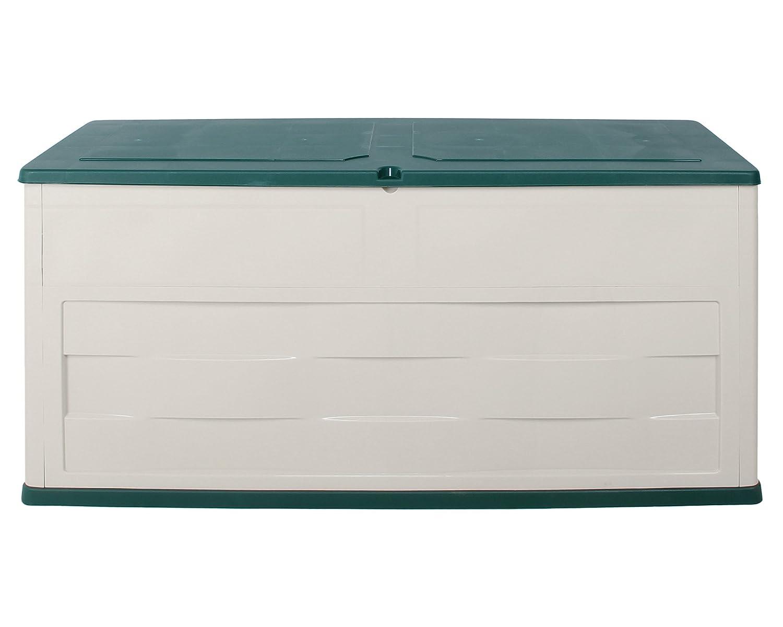 Kissenbox Ambition Auflagenbox milchweiß grün