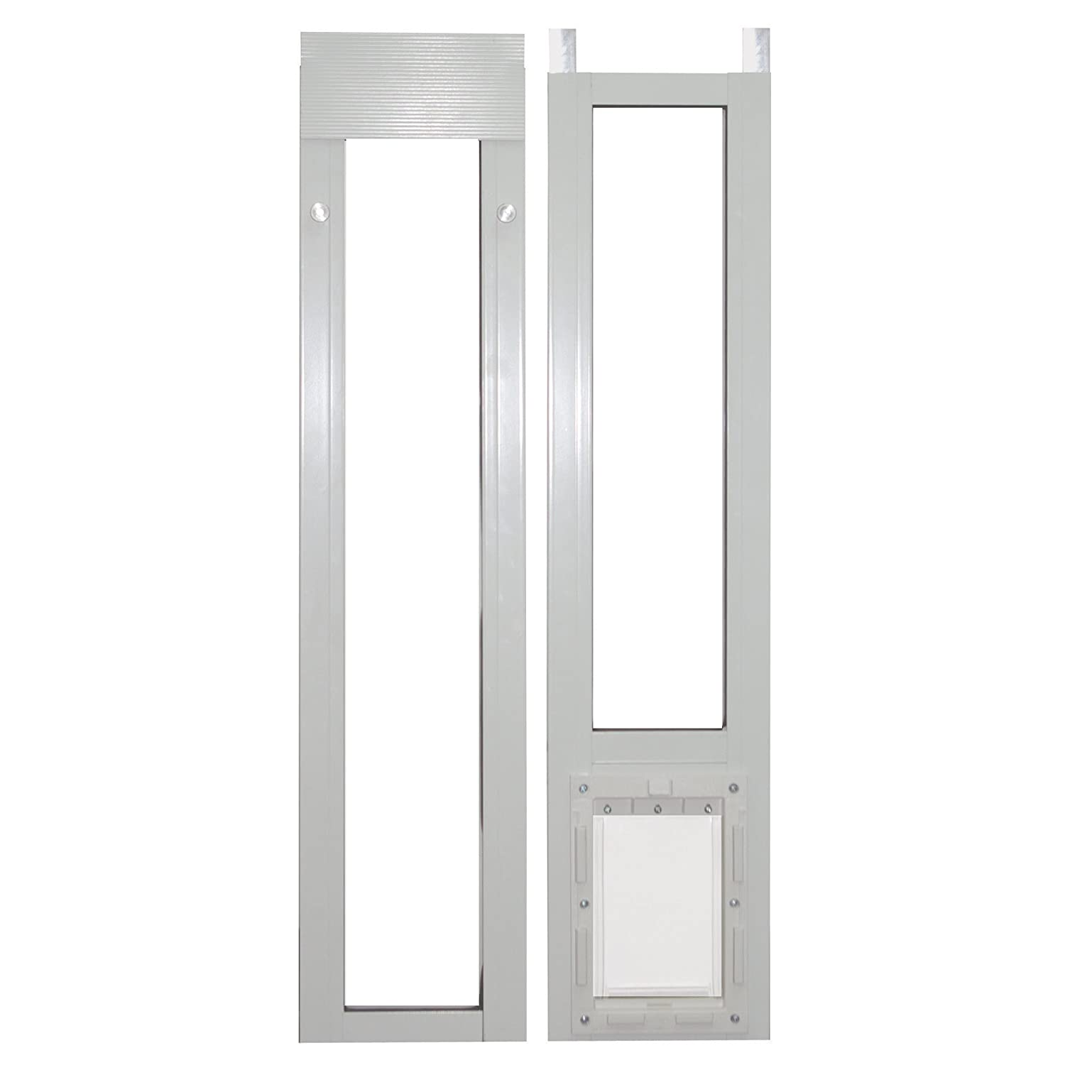 Ideal Cat Flaps Pet Products 80 Inch Modular Patio Door Pet Door New
