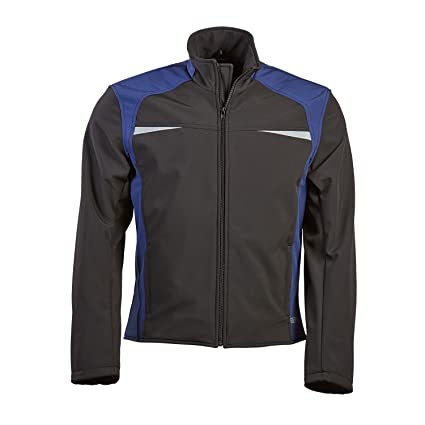 Germas 398. 07-48-s shoftshell adam protektorentasche veste de moto pour le dos-multicolore-taille s
