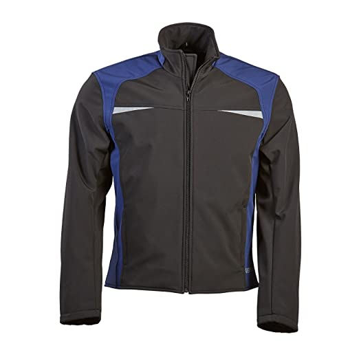 Germas 398. 07-54-xL veste shoftshell adam avec protektorentasche moto pour le dos-multicolore-taille xL