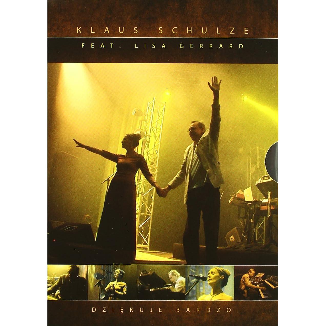 Music DVD Review: Klaus Schulze featuring Lisa Gerrard - Dziekuje Bardzo