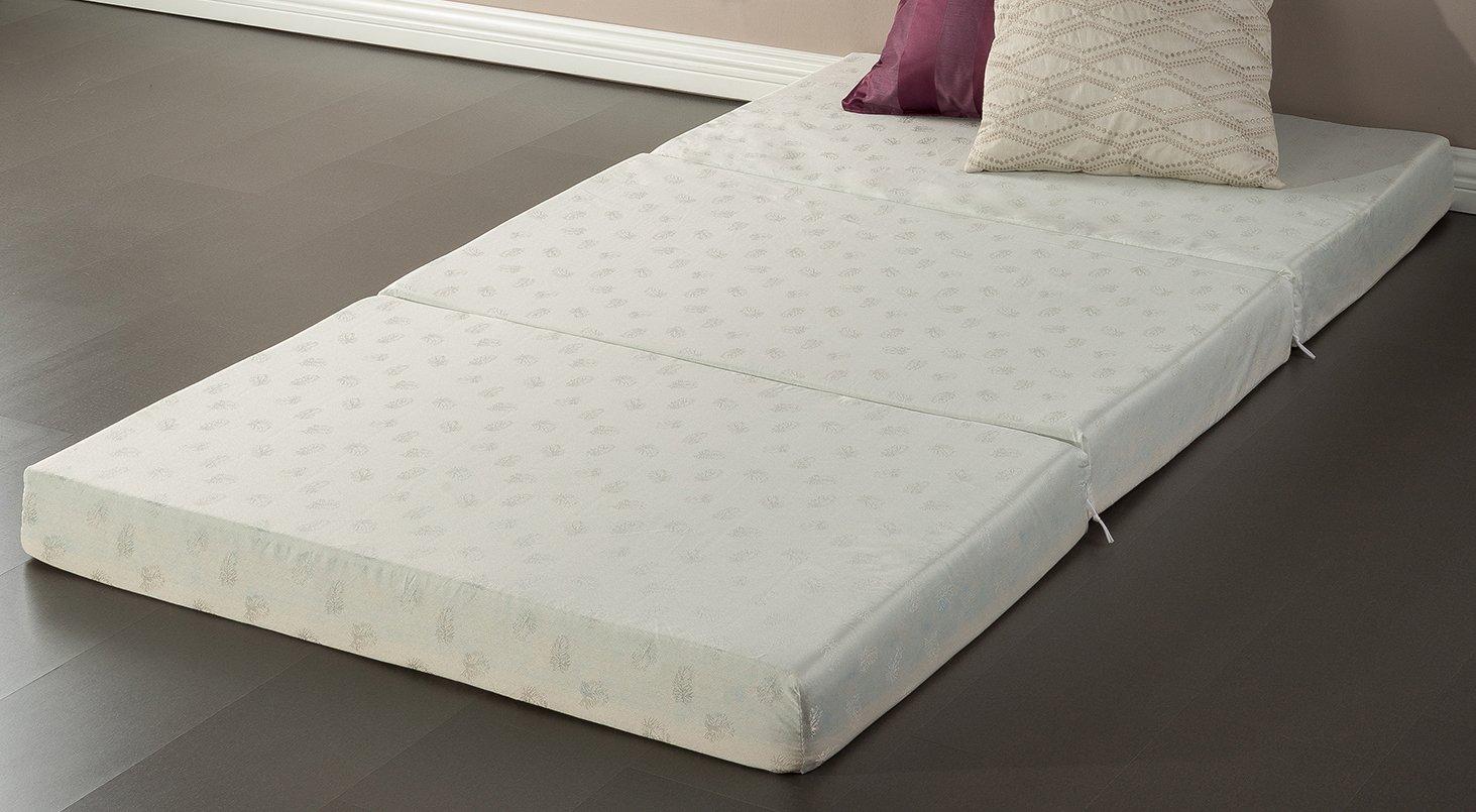 Sleep Master – 4-inch Memory Foam Tri-Fold Comfort Mat