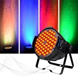 DJ PAR Light Daisy Chained 180W,LED Full Color Wash Light,DMX512 Controlled Stage Light Sound Activated,Master-slave, Auto Running for Stage Show,Concert,Theater (Color: 180W RGB 3 IN 1,Daisy Chain)