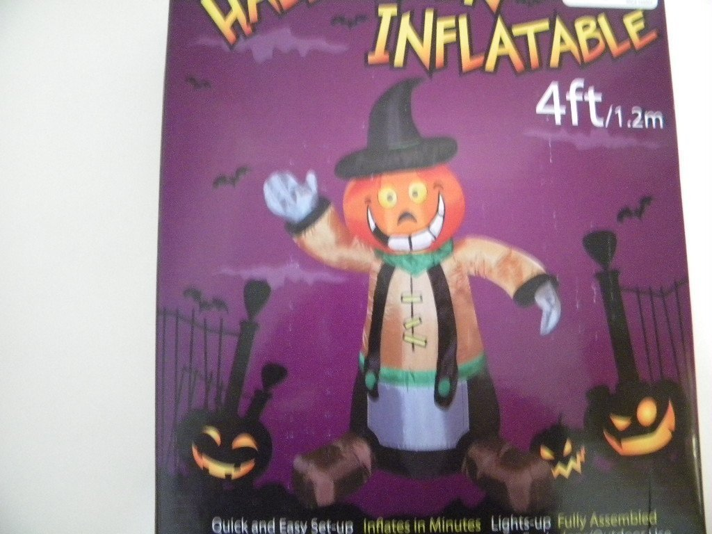Halloween outdoor inflatables page five halloween wikii for Animated scarecrow decoration