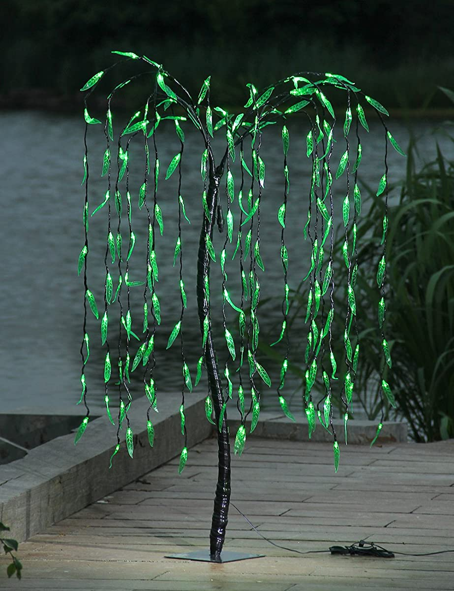 Lighted Willow Tree