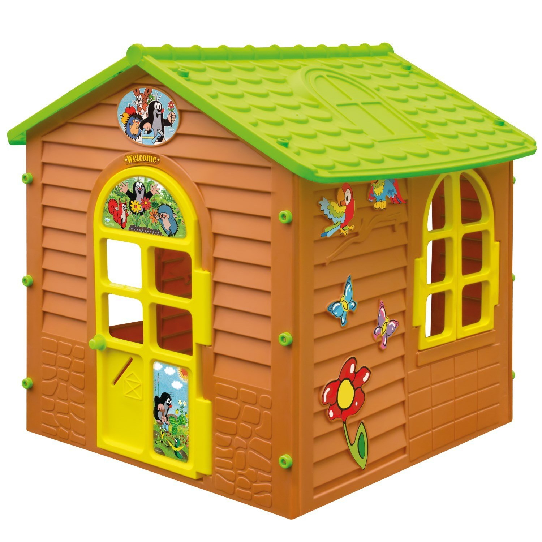 XL Spielhaus DER KLEINE MAULWURF Gartenhaus Kinderspielhaus günstig kaufen