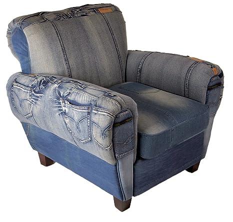 Home Elements Jeans/denim silla, Denim