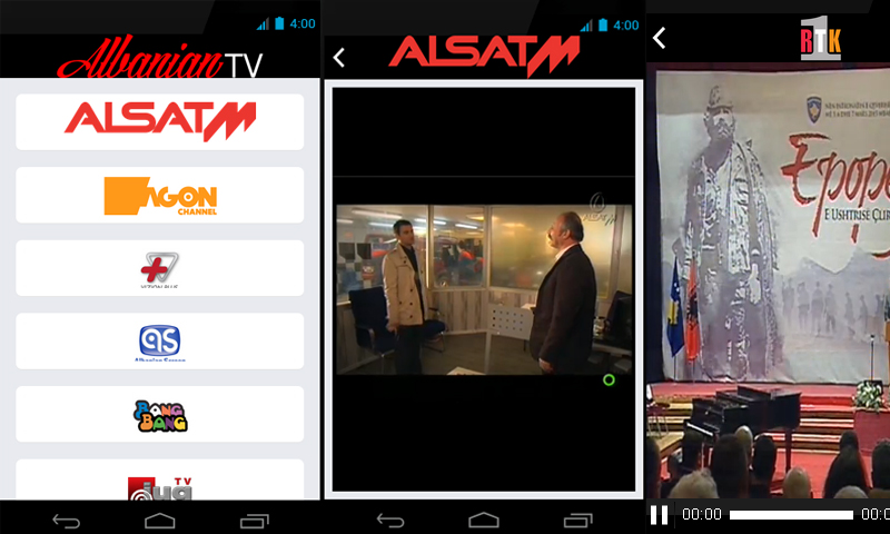 Albanian IPTV Android APP