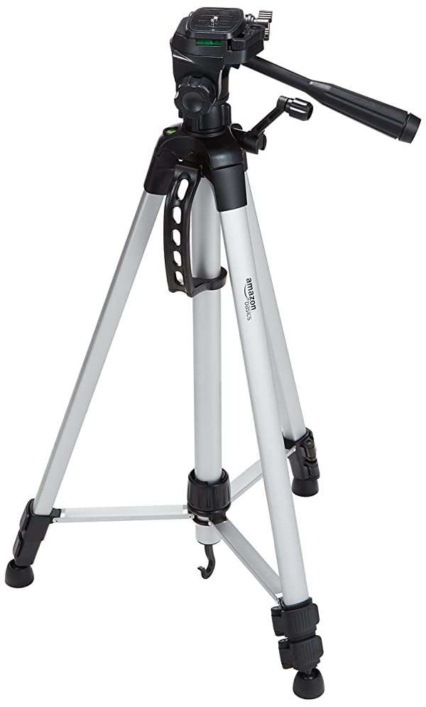 AmazonBasics 60-Inch Lightweight Tripod with Bag, 2-Pack (Color: Black, Tamaño: 60-Inch)