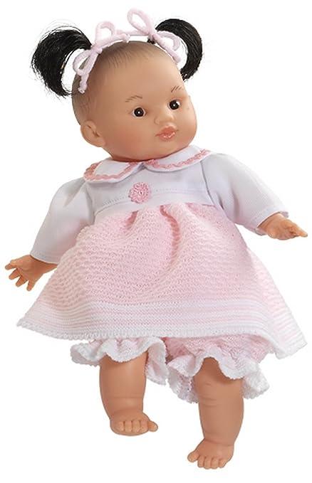 Paola Reina - 07132 - Poup?e et Mini Poup?e - Poupon Andy - Fille Asie - 32 cm