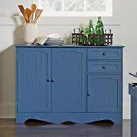 BrylaneHome Country Kitchen Buffet (Multiple Colors)