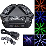 AW 9x10W 4in1 Mini LED Sipder Moving Head Light RGBW DMX Stage Bar KTV Disco Party