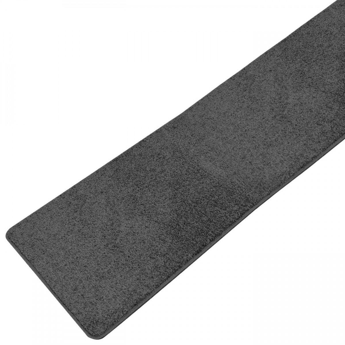 Teppich Läufer Plano schwarz, Größe Auswählen80 x 300 cm    Kundenberichte und weitere Informationen