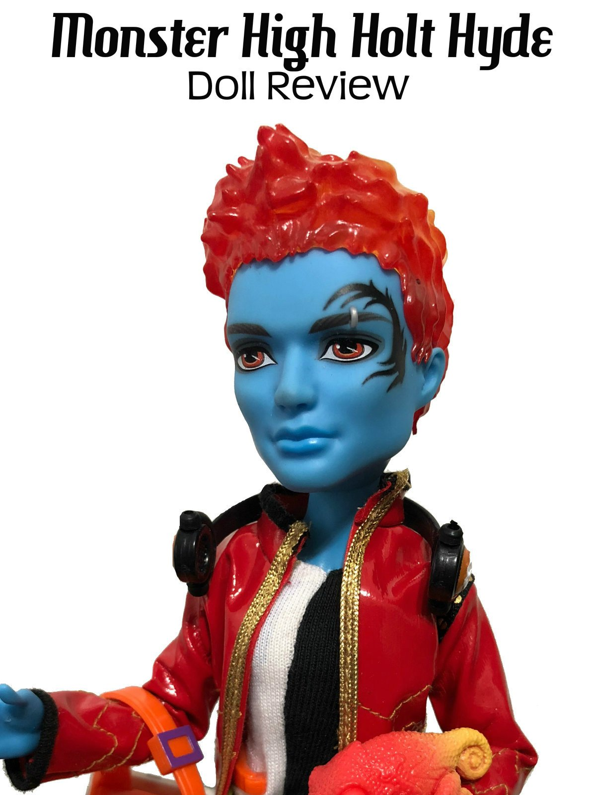 Review: Monster High Holt Hyde Doll Review