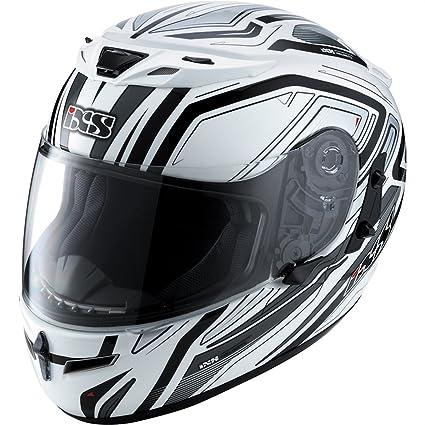 IXS - Casque - HX430 SHINE - Couleur : Blanc/Gris - Taille : S