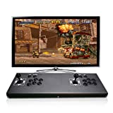 ElementDigital Arcade Games Console Home Arcade Game Machine Pandora's Box 4S Plus Double Players Arcade Joystick with 815 Arcade Games TV Monitor Projector PC Laptop PS3