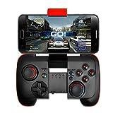 KINGAR Bluetooth Game Controller with Vibration(Have The Telescopic Bracket),Wireless Gamepad (Tamaño: S7002)
