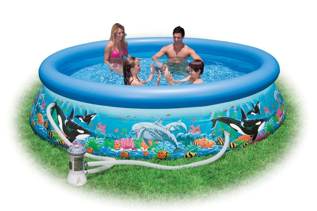 Buy Intex 10ft X 30in Easy Set Pool Above Ground Swimming