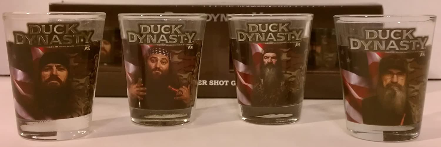 http://www.amazon.com/Duck-Dynasty-Shot-Glass-Set/dp/B00GWYKX50/ref=sr_1_5?m=A2TYI3UBDWT8M3&s=merchant-items&ie=UTF8&qid=1386601209&sr=1-5&keywords=duck+dynasty