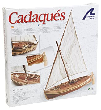 Artesania - Maquette en bois - Cadaqués