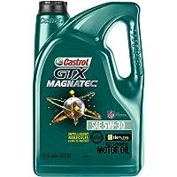 Castrol 03057 GTX Magnatec 5W-30 Motor Oil (5-Quart)