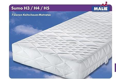 Matratze Malie Sumo Kaltschaum fur Gewichtige XXL 180x200 cm H5 MG