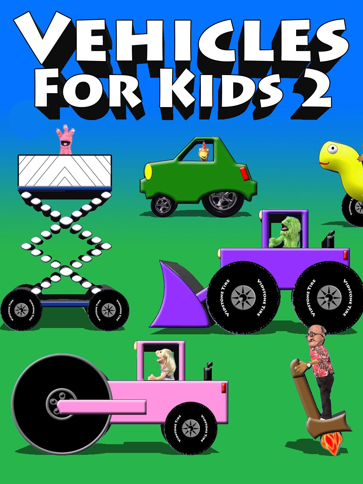 Vehicles For Kids 2