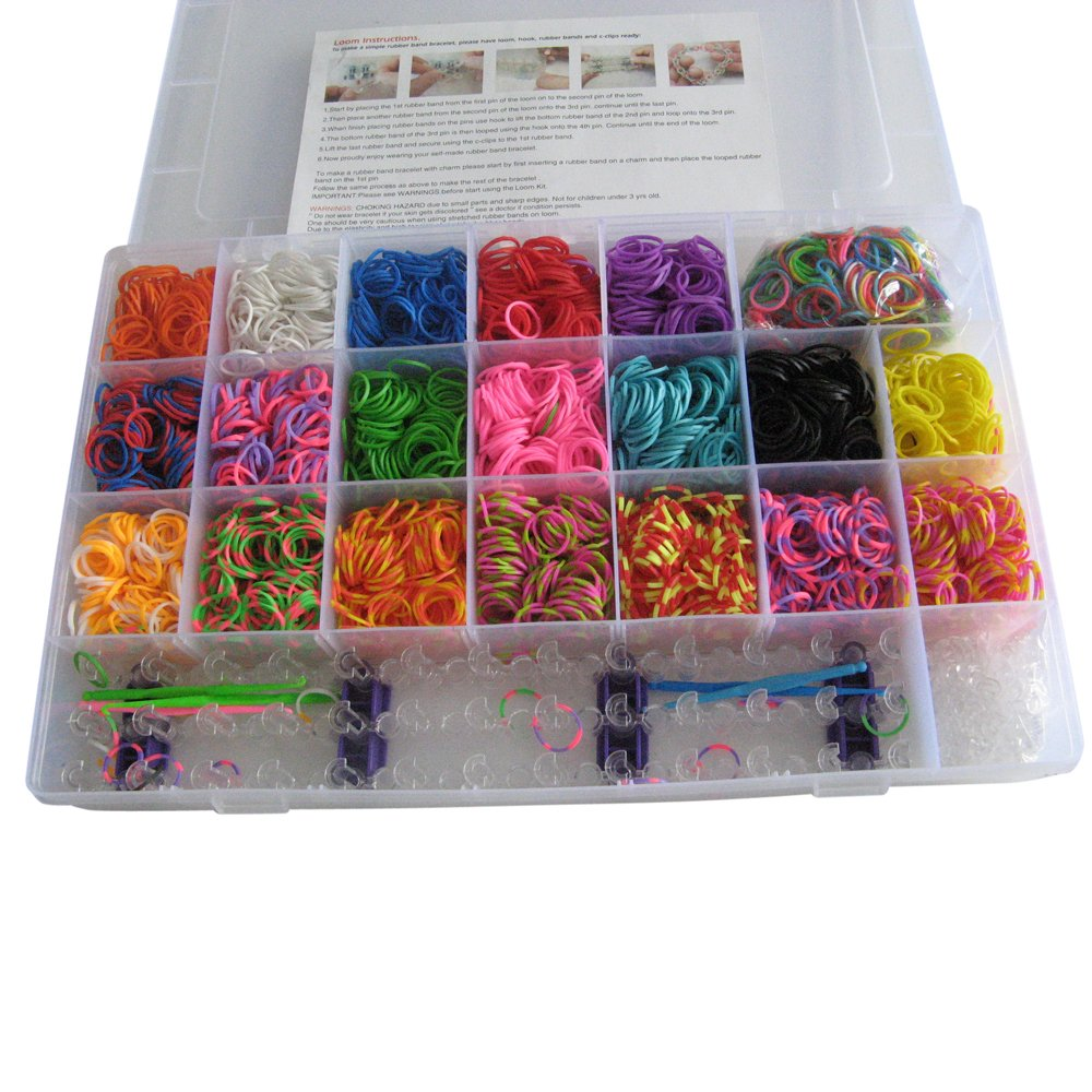 Loom Bandz Set & Clips Collection mit