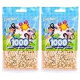 Perler Fun Fusion Beads 1000/Pkg-Sand (2 Pack) (Tamaño: 2 Packs)