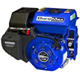 DuroMax XP7HPE 7 hp Electric/Recoil Start Engine (Color: Blue)