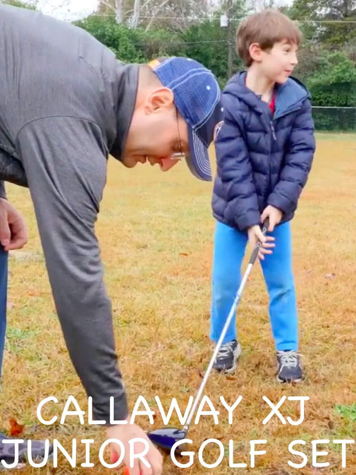 Clip: Kid Meets Golf Clubs
