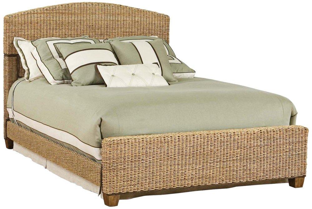 Home Styles 5401 400 Cabana Banana Queen Bed Honey Finish