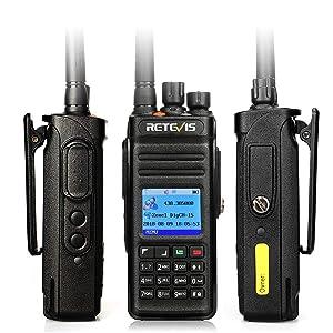 Retevis RT83 DMR Radios Digital Two Way Radio Waterproof IP67