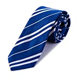 monochef Cosplay Tie for Birthday Party Costume Accessory Necktie for Halloween Party (Blue) (Color: Blue, Tamaño: Large)