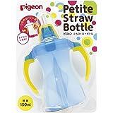Pigeon Petit Straw Bottle Aqua Blue 150mL