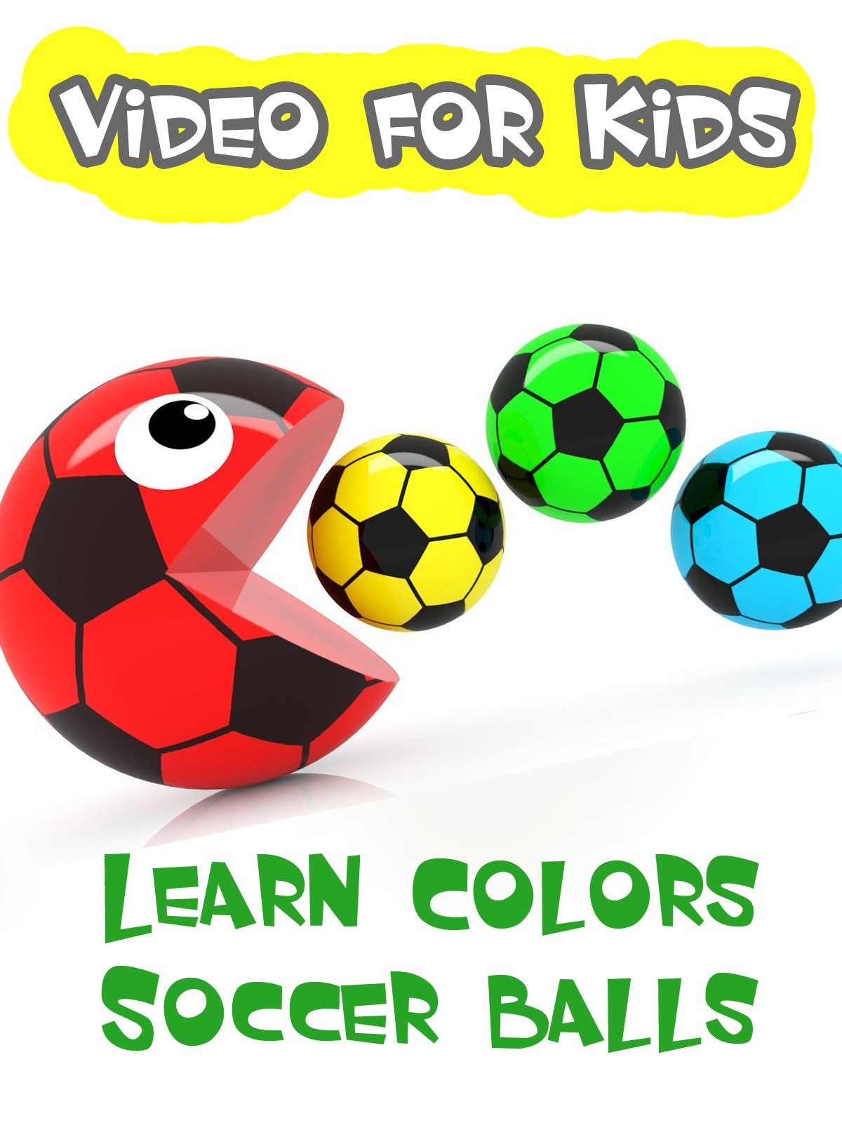 Learn Colors Soccer Balls