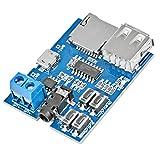 YIKESHU HiLetgo Mp3 Lossless Decoders Decoding Power Amplifier Mp3 Player Audio Module Mp3 Decoder Board Support TF Card USB