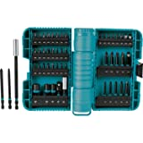 Makita A-98348 50 Pc Impactx Driver Bit Set (Color: teal, Tamaño: 50-Pc)
