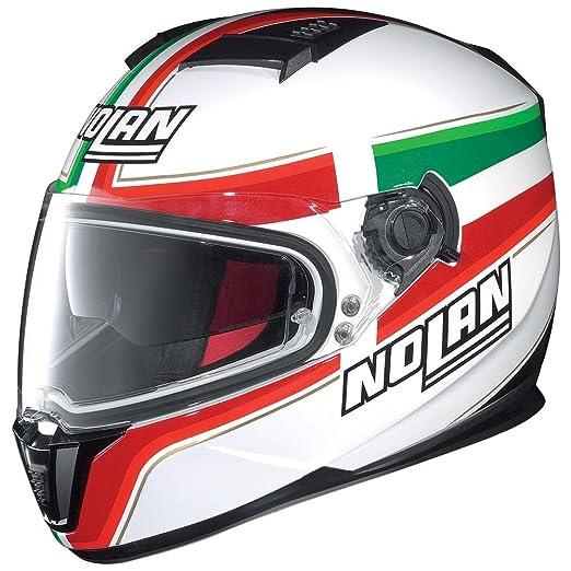 Nolan - Casque - N86 ITALY - Couleur : Blanc - Taille : L