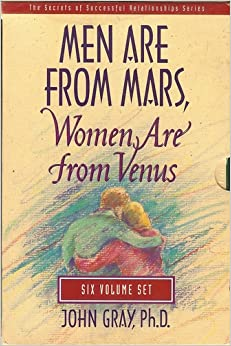 men from mars women are from venus john gray first print - photo #14
